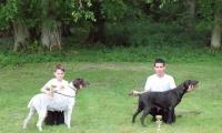 Junior-Handling mit Cedric-Caden und Christian